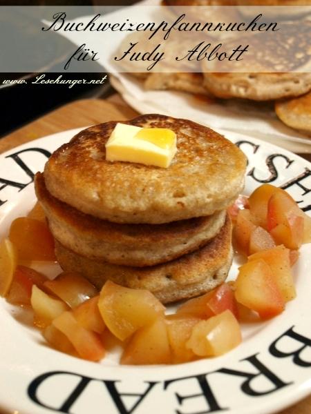 Daddy Langbein: Buchweizenpfannkuchen mit karamellisierten Äpfeln für Judy Abbott