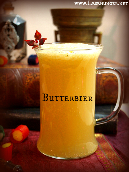 Unterwegs mit Harry Potter: Karamelliges Butterbier
