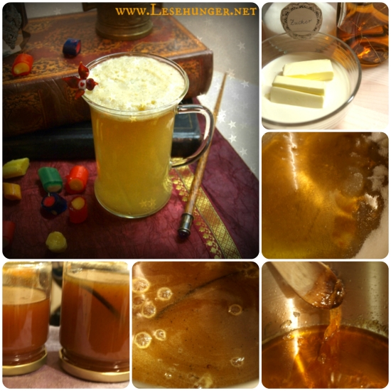 Butterbier selbstgemacht / Cooking butterbier (cream soda)