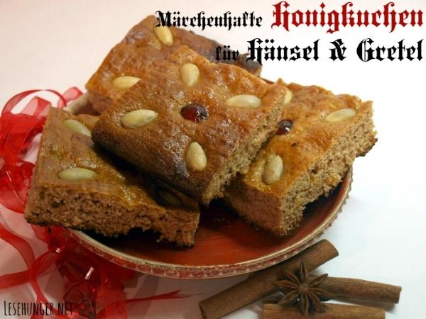 Rezept für Lebkuchen wie im Märchen von Hänsel und Gretel